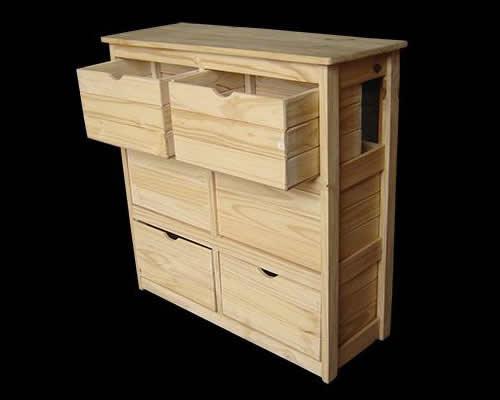 Muebles de dormitorio en pino for Muebles en pino